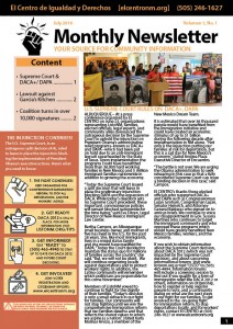 Newsletter July 2016