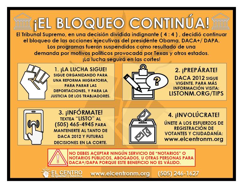 SCOTUS_Inforgraphics - Decisión DACA+/DAPA